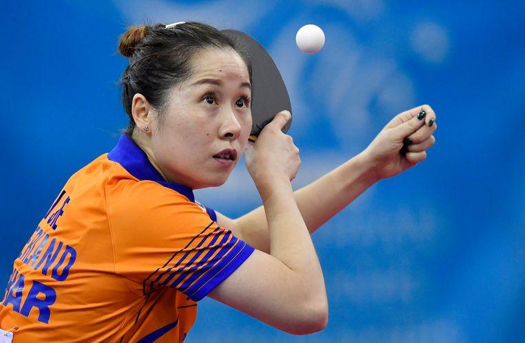 Li Jie werd voor het eerst de winnares van de Top-16 vorige maand. Beeld AP