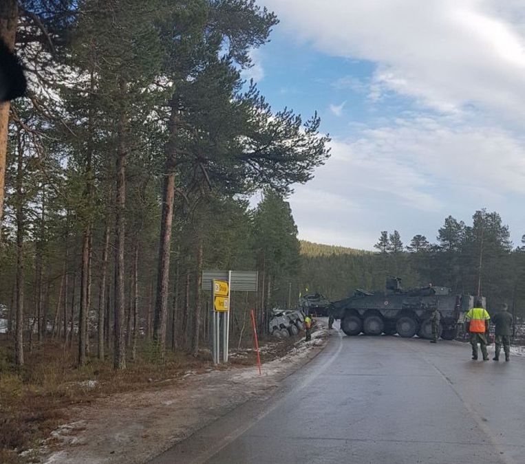 De aanrijding gebeurde in Hedmark, een provincie in het zuidoosten van Noorwegen.