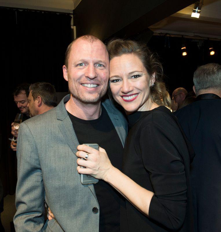Hilde De Baerdemaeker en haar man Pieter.