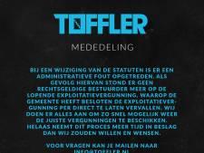 Nachtclub Toffler voorlopig dicht na administratieve fout