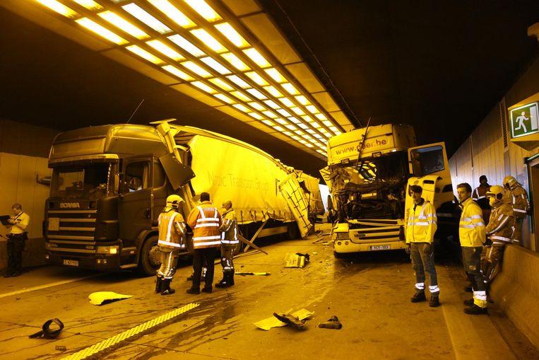 Nu al gebeuren er meer ongevallen in de Beverentunnel: vorige week zelfs drie in één dag.