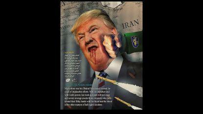 """Trump krijgt klappen op gehackte overheidssite VS: """"Dit is een boodschap van de Islamitische Republiek Iran"""""""