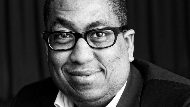 John Leerdam, projectleider van de Black Achievement Month. Beeld Maarten Bezem