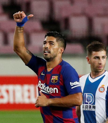 Suárez steunt zijn trainer en Griezmann