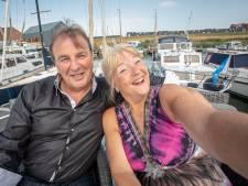 Anita en Ed: duizenden selfies met fans