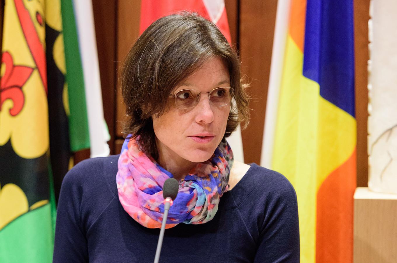 Wethouder Astrid Janssen (duurzaamheid).
