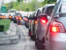 Ongeluk op A27 tussen Gorinchem en Geertruidenberg, linkerrijstrook weer open