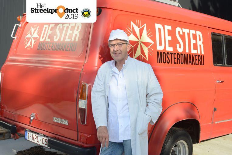 Paul Eraly van mosterdmakerij De Ster in Lubbbeek.