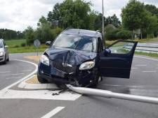 Automobiliste gewond bij crash in Witte Paarden
