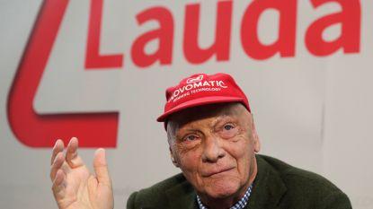 Vliegverbod voor Niki Lauda: F1-legende  komt dit seizoen niet meer in de paddock