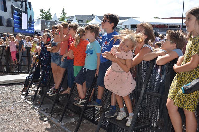 Zaterdag was de jeugd aan zet op de kindernamiddag van de Lokerse Feesten op de Grote Kaai.