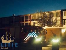 Flinke schade aan keuken na vlam in de pan in Lelystad
