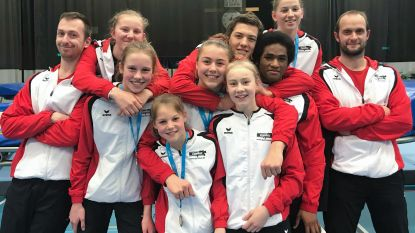Trampolinespringers GymMAX rijven medailles aan elkaar