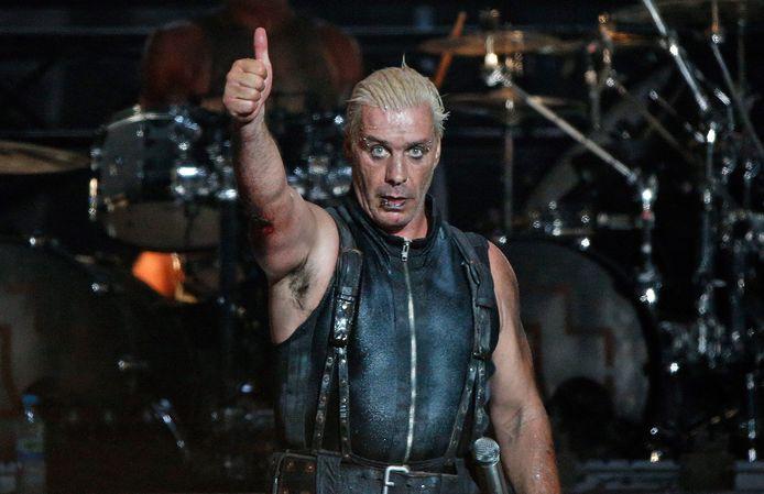 Rammstein-frontman Till Lindemann.
