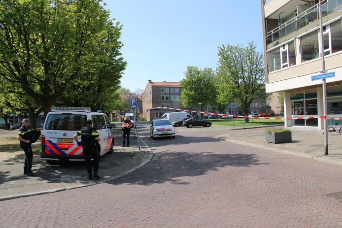 Meerdere hulzen werden op straat aangetroffen