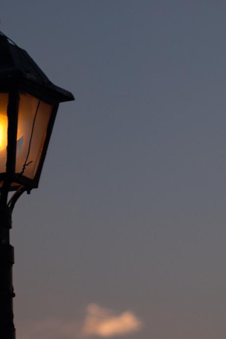 De straten van Veenendaal zijn weer verlicht vanavond