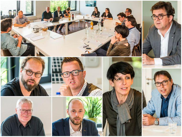Panelleden: Benjamin Clarysse (Bond Beter Leefmilieu), Dirk Verbeeck (Kamp C), Jorn Van Herck (Overlegplatform voor Energiedeskundigen), Stijn Verbeke (EnergyVille/VITO), Kati Lamens (Netwerk Architecten Vlaanderen), Olivier Schmitz (Radson), Geert Flipts (Vlaams Energieagentschap).
