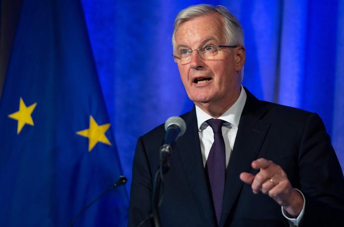 Michel Barnier, de EU- onderhandelaar voor brexit.