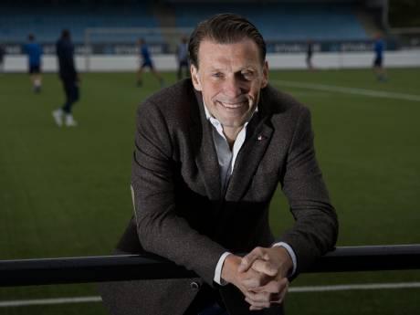 Interim-directeur Justin Goetzee wil bij FC Eindhoven ondanks de crisis bouwen aan de toekomst