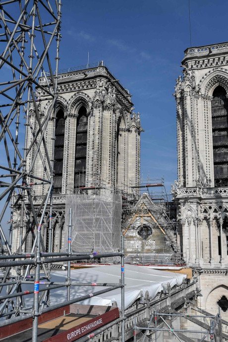 Notre-Dame de Paris: le point sur un chantier titanesque