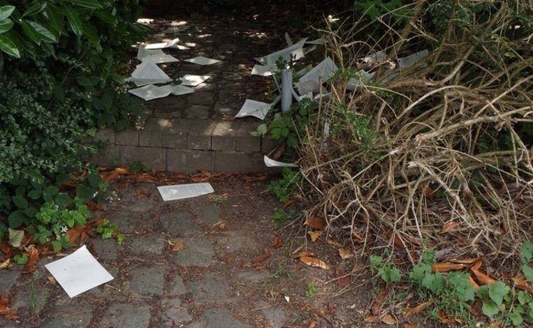 Alle bladeren uit de boeken gerukt