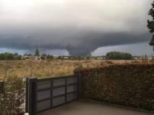 Oui, ces images de tornade ont été filmées dans le ciel belge hier