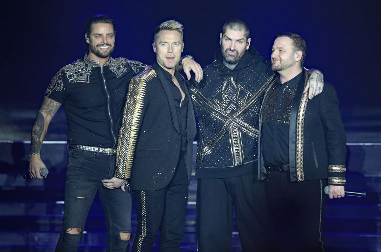 Boyzone in 2019: Keith, Ronan, Shane and Mikey.