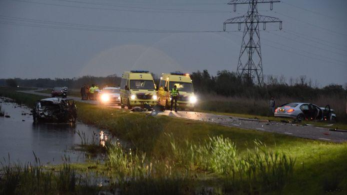 Het noodlottige ongeluk in de Biesbosch.
