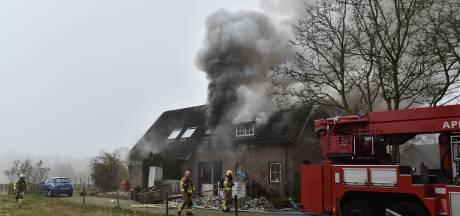 Uitslaande brand in woning in Wenum-Wiesel snel onder controle