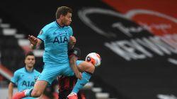 Alderweireld en Vertonghen moeten genoegen nemen met punt op Bournemouth na bleke wedstrijd