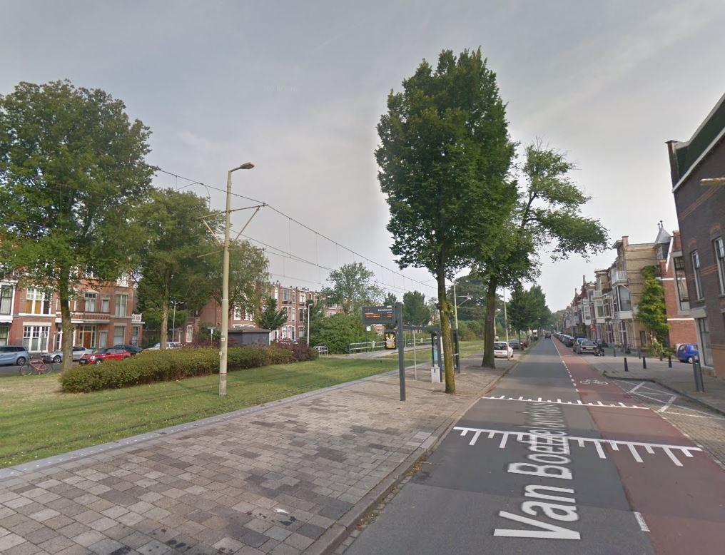 De Van Boetzelaerlaan in Den Haag.