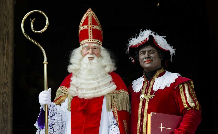 Peter Faber als Sinterklaas Beeld anp