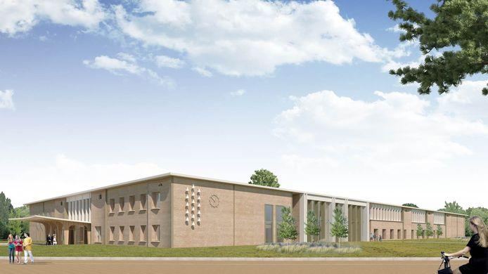 Zo moet het nieuwe gemeentehuis in Twello er uit komen te zien.