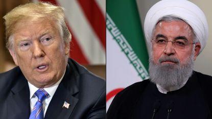 """Trump bereid tot """"gesprek zonder voorwaarden"""" met Iran"""