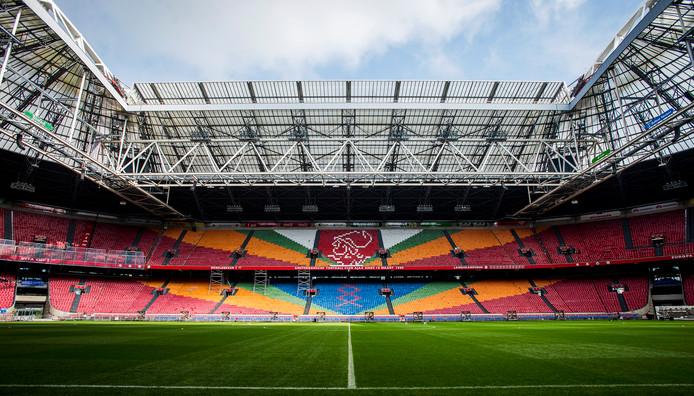 Het oude interieur van de Amsterdam Arena.