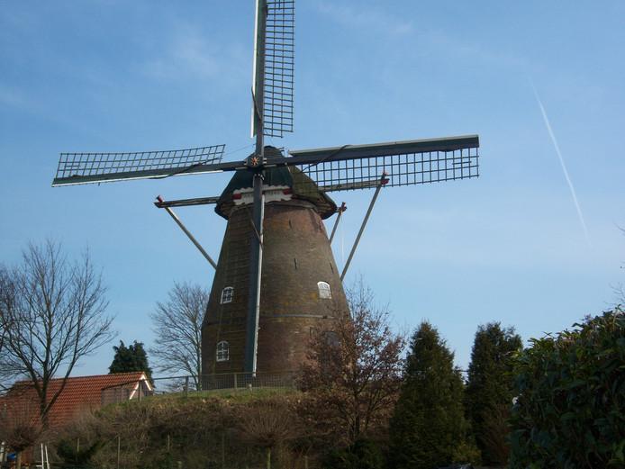 De windmolen van Frieling in Fleringen