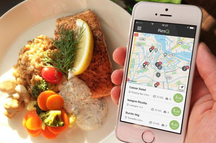 Het Finse ResQ wil voedselverspilling en klimaatverandering tegengaan door overgebleven restaurantmaaltijden goedkoop aan te bieden.