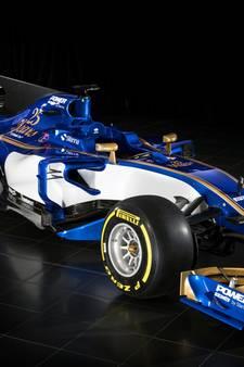 Sauber presenteert Formule 1-auto