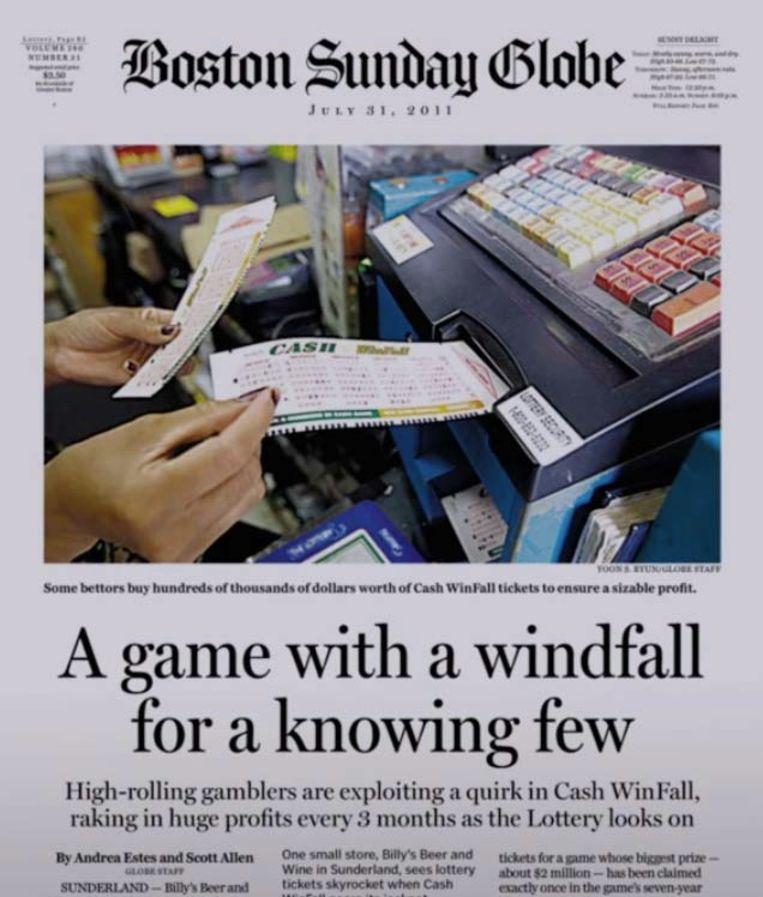 Het duurde tot 2011 vooraleer The Boston Globe na een tip ontdekte wat er aan de hand was.