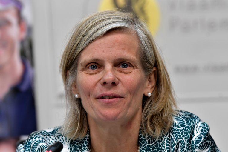 VUB-rector Caroline Pauwels (55).