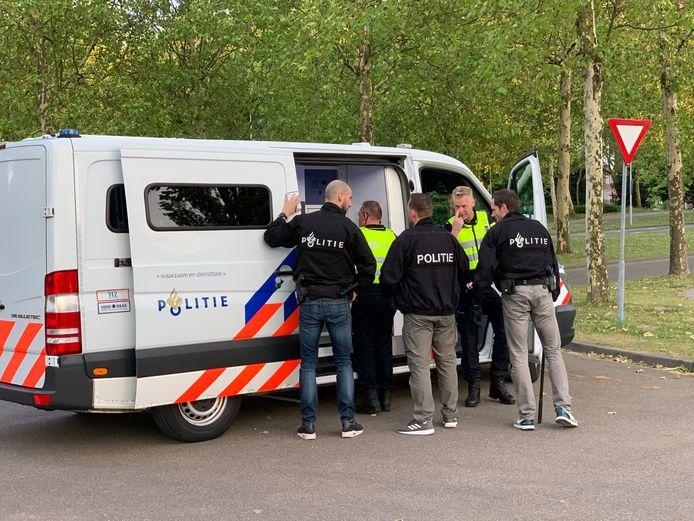 Inzet politie na de wedstrijd FC Den Bosch - Go Ahead Eagles