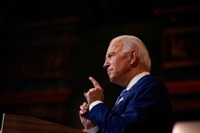 Joe Biden sera investi 46ᵉ président des États-Unis le 20 janvier 2021.