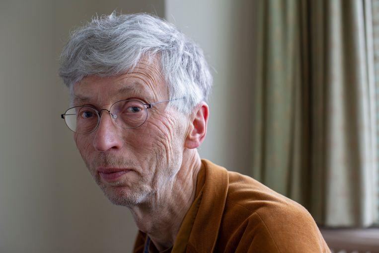 Johan Vollenbroek: ' Ik wil niet dat we over twintig jaar in een land wonen met natuur die alleen maar bestaat uit bramen en brandnetels'.  Beeld Jildiz Kaptein