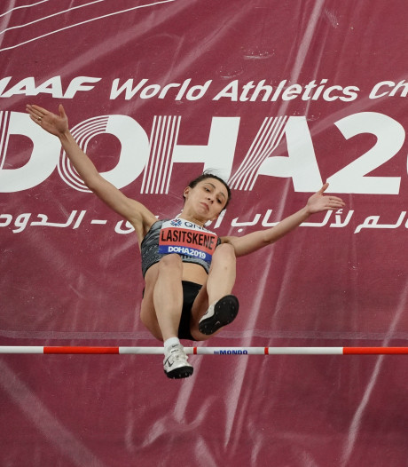 Drievoudig wereldkampioene Lasitskene voelt zich verraden door Rusland