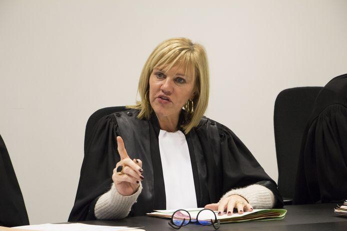Mireille Schreurs, juge au tribunal de police d'Alost.