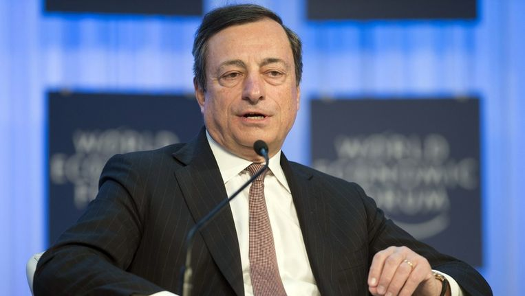 Mario Draghi Beeld epa
