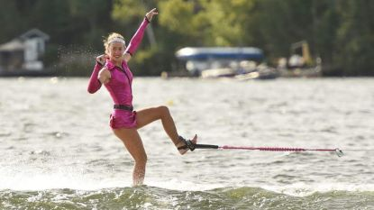 Jasmin (17) is Wereldatlete Waterski 2018