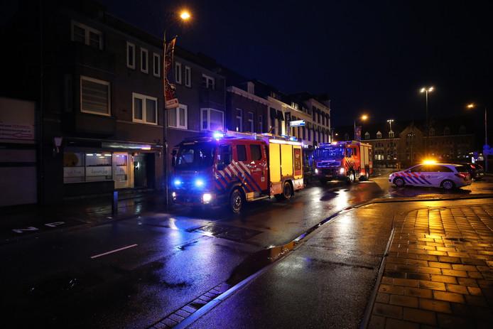 Brand in op bovenverdieping van pand in Roosendaal