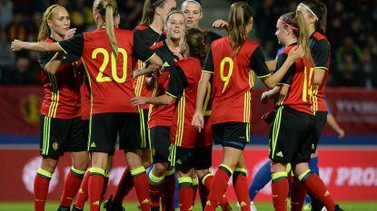 Red Flames nemen eerste horde richting WK-barrages: Van Kerkhoven in het slot grote heldin tegen Roemenië