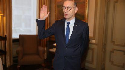 Philippe De Coninck legt eed af als burgemeester van Assenede